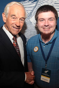 Zach Lachowsky and Ron Paul