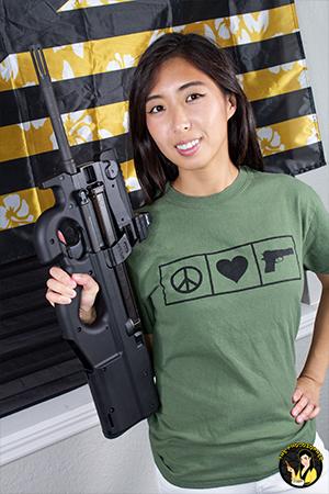 peace love guns